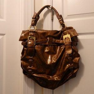 Handbags - Bronze Purse ( Large )